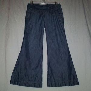 LEVEL 99 USA 29 Wide Leg Bell Bottom Jeans 29X28